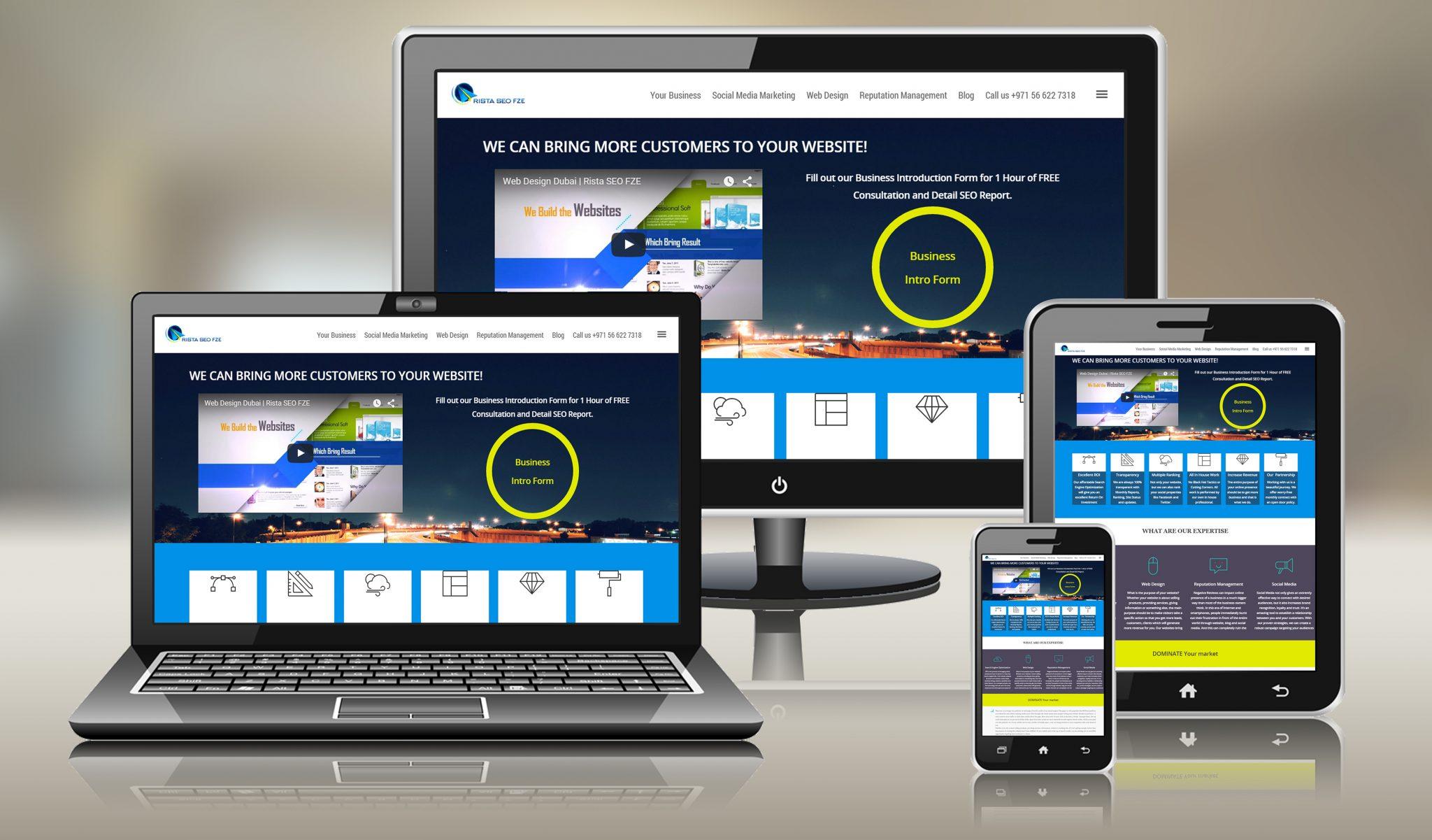 Designer Wallpaper | Digital Services in Dubai | Rista